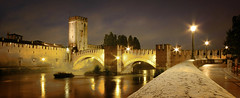 Verona (Raul-64) Tags: italy night river nikon italia fiume verona notturno adige veneto p7100