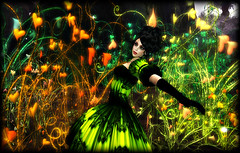 Enjoying Tinker's Hollow at Fantasy Faire 2016 (Tayren Theas) Tags: dark gothic victorian secondlife rfl roleplay vividcolors tff fantasyfaire tayrentheas tayrensfantasyfashions tinkershollow