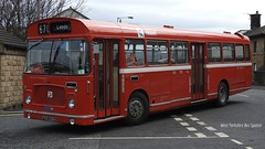 Preserved Trent FRB 208H 356 (WY Bus Spotter) Tags: red bus heritage museum bristol transport leeds trent preserved 670 356 keighley ecw kbmt rell6g frb208h