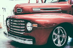 F truck reflections. by chris hohnke -