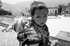 Black Hmong Kids (jasonwfields) Tags: vietnam sapa hmong blackhmong