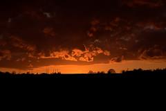 Ciel Enflamme 2 (florent.duchastel) Tags: sunset sky cloud sunlight clouds evening soleil ciel nuage extrieur nuit couch compiegne margnylescompiegne