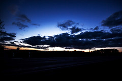 Blue Hour (betadecay2000) Tags: blue cloud weather clouds germany deutschland dawn abend dusk wolke wolken hour bluehour dmmerung blau wetter meteo weer blauestunde stunde dlmen duelmen
