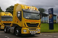 BILLY BOWIE TANKERS T10BBT (bobbyblack51) Tags: bowie billy iveco tankers 460 2015 truckfest ingleston stralis t10bbt