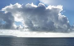 Sun Rays and Needles (suepage_mx) Tags: sea sky cloud sun sony rays needles