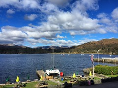 Good Morning Lake Windermere (Marc Sayce) Tags: morning lake clouds boat good district cumbria catamaran ambleside windermere