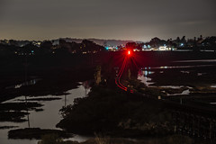 101 Tracks (jordanmoorman84) Tags: california longexposure railroad beach night nikon san diego lagoon nikkor solana kraken the d610 2470mm28