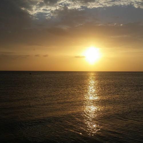 Atardecer. Cabo de la vela. Guajira. COLOMBIA