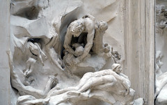 Rodin, The Gates of Hell​ (detail), 1880-1917