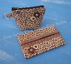 Niqueleira e porta lenços (Zion Artes por Silvana Dias) Tags: niqueleira portalenços zionartes