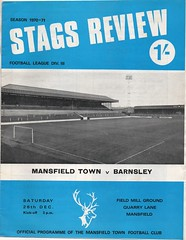 1970-71 Mansfield Town v Barnsley (andyhorsfield63@gmail.com) Tags: football mansfield barnsley programme footballprogramme mansfieldtown barnsleyfc barnsleyfootballclub