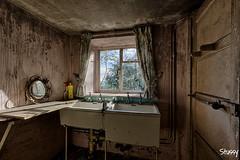 GC-1 (StussyExplores) Tags: windows light abandoned farmhouse landscape scenery aberdeenshire decay cottage explore curtains behind left exploration derelict urbex grampian rurex