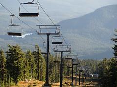 motionless (dolanh) Tags: hiking trilliumlake paradisepark timberlinelodge timberlinetrail mthoodwilderness chairliifts