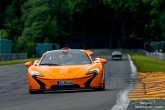 McLaren P1 (belgian.motorsport) Tags: orange mclaren modena spa p1 francorchamps mso 2015 trackdays