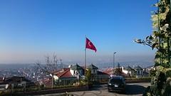 Çamlıca Hill Üsküdar İstanbul (mcy.yusufoglu) Tags: flag hill istanbul üsküdar çamlıca turksih