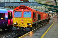 Carlisle. (Sneeze82) Tags: carlisle class66 ews 66152 dbschenker 6e50