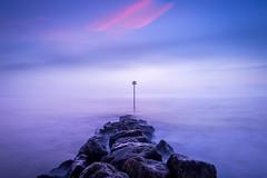 Mudeford - Dorset (Christopher Pope Photography) Tags: sea christchurch seascape sunrise surf waves spit beachhuts mudeford boscombe hengistburyhead dorest southborne christopherpope mudeforfdsplit christopherpopephotography wwwchristopherpopephotographycom