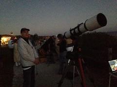 150716 jerry photo of TomT next to ES152 at Bacara (ceztom) Tags: tt es 152 bacara refractor sbau es152 explorescientific