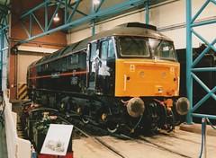 "Former Royal Train Class 47/7, 47798 ""Prince William"" (37190 ""Dalzell"") Tags: york spoon brush duff nrm nationalrailwaymuseum princewilliam royaltrain sulzer ews class47 type4 47798 47072 47834 royalplum class477 d1656 englishwelshscottishrailway 47609"