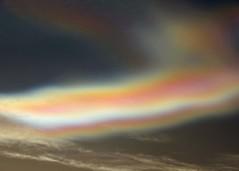 02Feb16 Nacreous Close2 (Daisy Waring World) Tags: pink sky cloud silver motherofpearl nacreous torquoise
