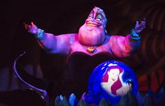 Ursula (CptSpeedy) Tags: world sea black smile dress witch sony magic evil kingdom disney spell divine wicked octopus animated mermaid alpha dragqueen wdw walt villain animatronic magickingdom littlemermaid tentacles