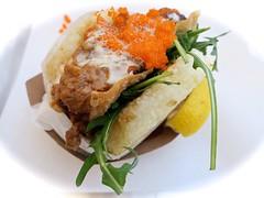 Braised Pork Koja (Riex) Tags: california food asian lunch japanese restaurant burger fastfood sanjose plate sandwich korean meal fusion nourriture californie asiatique g9x kojakitchen