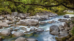 Mossman Gorge, Daintree National Park, Far North Queensland, Australia (II) :: 0.6 ND Lee Filters (:: Artie | Photography :: Travel ~ Oct) Tags: nature water creek photoshop canon river landscape rainforest rocks stream outdoor tripod australia wideangle lee mossman queensland tropical gorge cairns filters mossmangorge ef 1740mm daintree artie fnq farnorthqueensland f4l cs6 daintreenationalpark leefilters 06nd 5dmarkii 5dm2 neutralgraduated