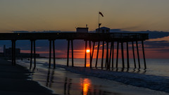 Beach Sunrise (PMillera4) Tags: beach sunrise dawn oceancitynj oceancity beachsunrise