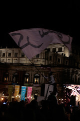 Deichkind auf dem Theaterplatz in Dresden