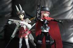 Busou Shinki - Asuka & Mermeltier (Marco Hazard - Knight of Ren) Tags: asuka mecha murmeltier musume shimada busou shinki fumikane
