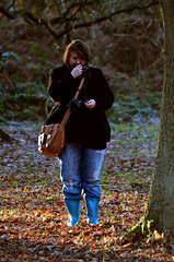 stephanie (explored 20th of january 2016) (james keats) Tags: autumn winter cold nikon forrest sherwood sherwoodforrest goldenleaves nikond7000