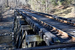 Bolin Creek Bridge (madurobob) Tags: trestle railraod