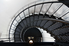 Spiral Stairs, Yaquina Head Lighthouse (Emily Miller fine art) Tags: lighthouse oregon stairs spiral newport yaquina