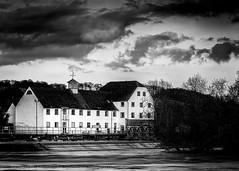 Hambleden Mill (Stuart Feurtado) Tags: longexposure blackandwhite water monochrome river nikon le riverthames oxfordshire oxon d810 leefilters littlestopper hambledonmillhambledonweir