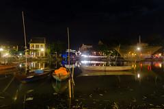 Hoi An riverfront (bambo_85) Tags: street night river boats nikon asia vietnam hoian riverfront japanesebridge d5100