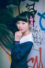 IMG_1483 (WANGYANZHI) Tags: cute art girl jk    6d  sigma50mm         canon6d 50f14art