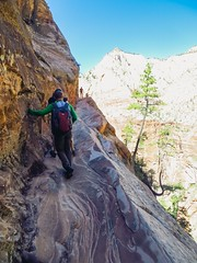 Hidden Canyon Trail (Annual Adventure) Tags: travel utah nationalpark hiking zion adventuretravel hiddencanyon