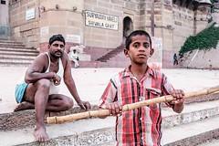 _DSF2881 (travelstreetmodel) Tags: india varanasi tension fujichrome ghats travelphotography riverganges fuji23mm fujixt1