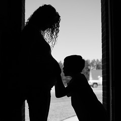 Mamas.... (jeneksmith) Tags: family portrait baby white black silhouette canon mother son maternity canoneos70d