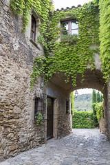 Streets of Monells (AnnaPirata) Tags: vines catalonia catalunya monells