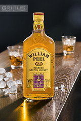 William Peel Whisky (Grinus Commercial Photography) Tags: ice bottle packshot whisky 360degree productphotography commercialphotography produktfotografie fotografiareklamowa fotografiaproduktowa fotografiakomercyjna 360dergeeproductphotography