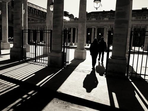 Dans les ombres du Palais Royal