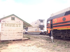 AK Cars at Forrest (Rickoo5) Tags: cars train track forrest ak railway trains recording