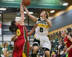 2016_02_20PandasBB (26) (Don Voaklander) Tags: woman college sports basketball sport female community women university edmonton varsity cis pandas womens canada west centre interuniversity university canadian alberta sport voaklander saville donvoaklander
