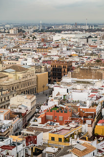 Seville Jan 2016 (5) 660 - The view from La Giralda, the Cathedral tower