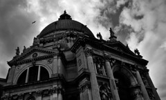 Dome (smithanyaphotography) Tags: old travel venice shadow sky blackandwhite bw italy cloud white black skyline landscape outdoors photography photo blackwhite nikon europe shadows outdoor adventure explore round dslr exploration oval d7000