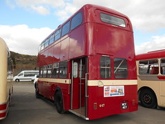South Wales 447 (welsh bus 16) Tags: swansea southwales v regent aec 447 mcy407 swanseabusmuseum