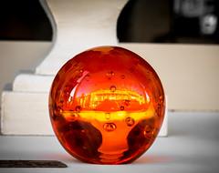 70/366 Golden Globe - 366 Project 2 - 2016 (dorsetpeach) Tags: orange colour ball golden globe warmth sphere dorset 365 engand paperweight dorchester 2016 366 orangeball orangeglobe aphotoadayforayear orangesphere 366project second365project
