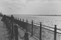 The Albert Docks (RyanGraham_) Tags: friends sea sky people blackandwhite white black water look weather clouds contrast docks work canon vintage project landscape photography couple photographer albert overcast sunny rails uni paths pathway uniwork albertdocks uniproject punlic