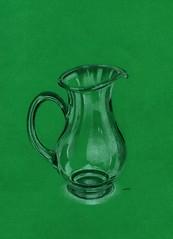e07 (Karwik) Tags: glass pencil pencils drawing jug szko owek rysunek olowek szklo dzbanek szklany